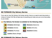 City Delivery Now Available in Plumtree, Zimbabwe!