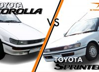 Toyota Corolla vs. Toyota Sprinter: A Brief History