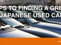 5 Tips to Help You Find Great Japanese Used Cars