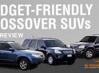 Top 3 Crossover Used SUVs Under $3,000