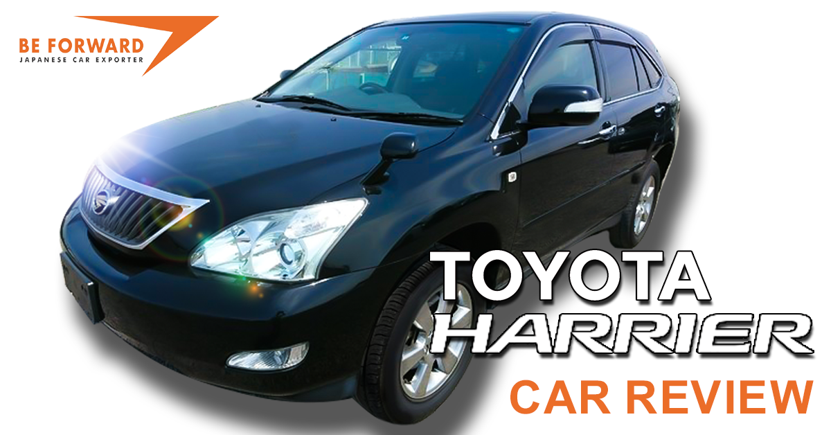 Toyota Harrier Review: A Crossover SUV with Class
