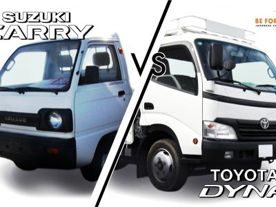 Suzuki Carry Truck vs. Toyota Dyna Truck: Used Truck Comparison Review