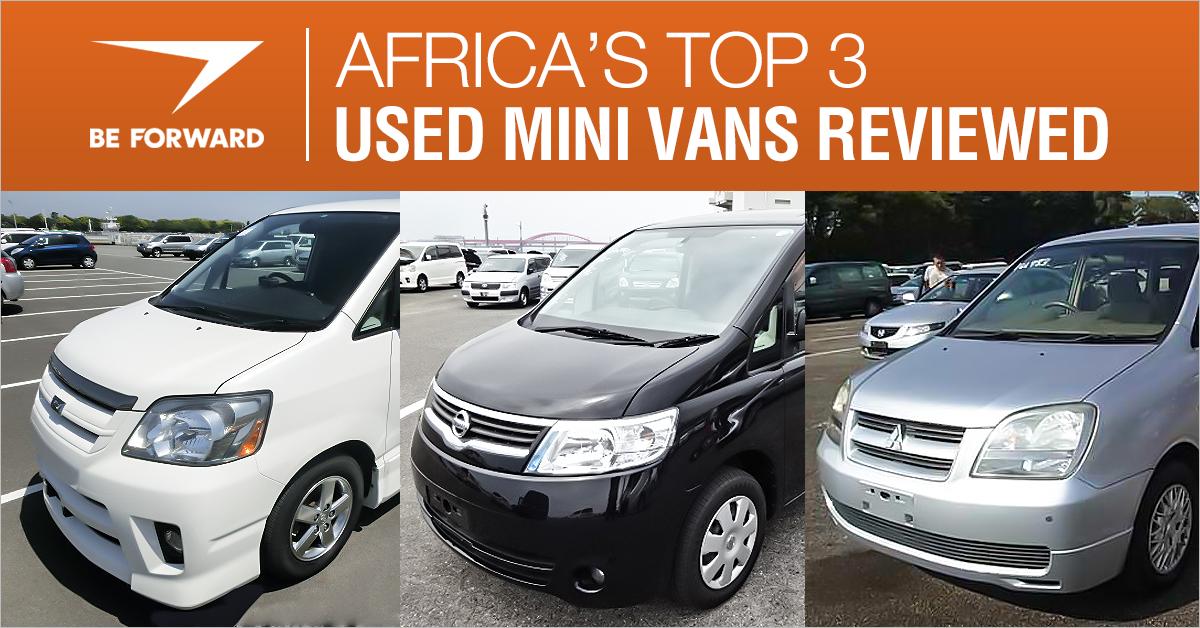 e43988bc20 best used mini vans for africa from BE FORWARD japanese car exporter