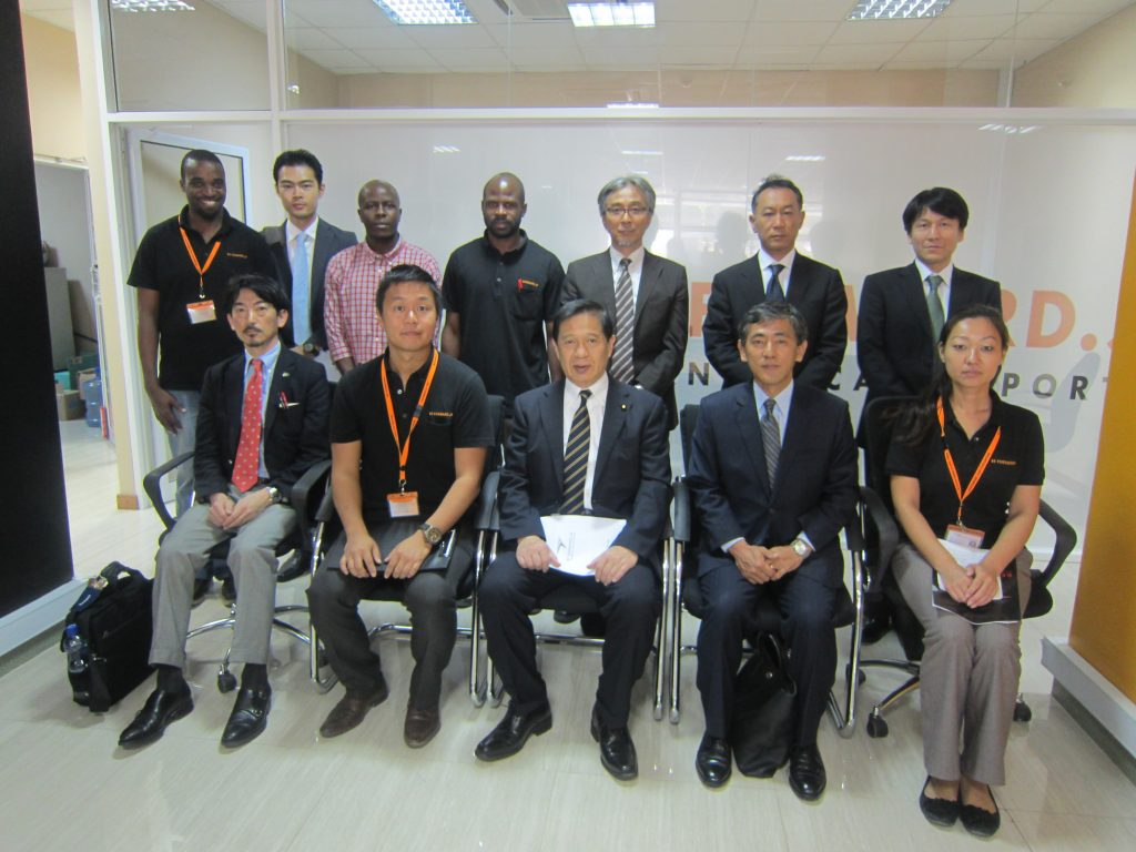 BF Tanzania and Japan Foreign Minister Mr. Mitsuya