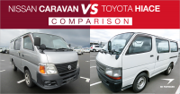 Nissan Caravan vs. Toyota HiAce Van: People Mover Car Comparison