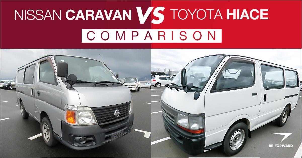 c02c63cd13350f Nissan Caravan vs. Toyota HiAce Van  People Mover Car Comparison