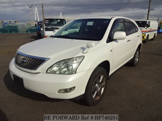 A used 2007 Toyota Harrier from online used car dealer BE FORWARD.