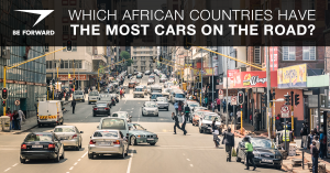 african countries with the most cars on the road