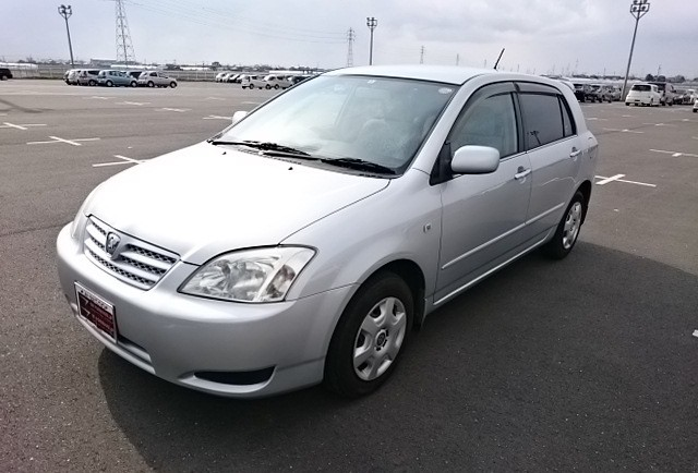 Used Toyota Allex - BE FORWARD