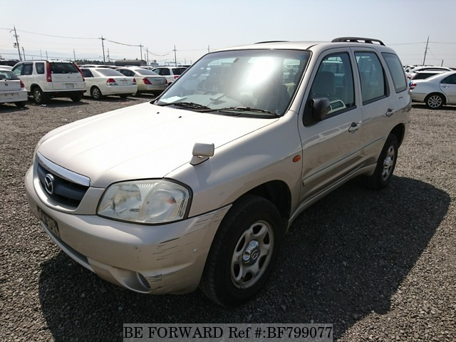 A used 2001 Mazda Tribute from online used car exporter BE FORWARD.