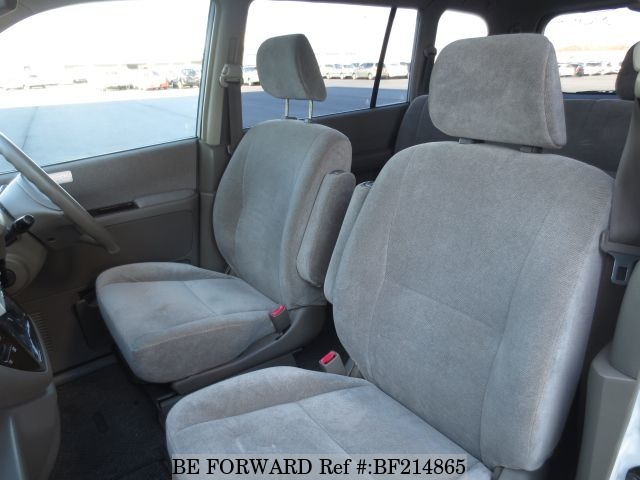 The interior of a used 2001 Mitsubishi Dion from online used car exporter BE FORWARD.