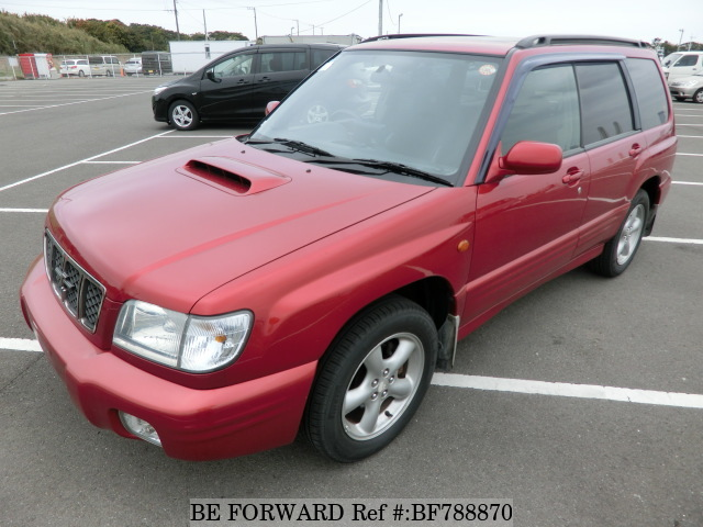 A used 2001 Subaru Forester from online used car exporter BE FORWARD.