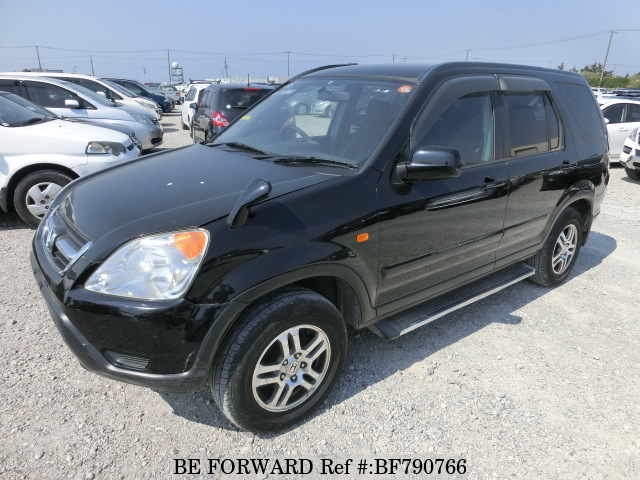 A used 2003 Honda CR-V from online used car exporter BE FORWARD.