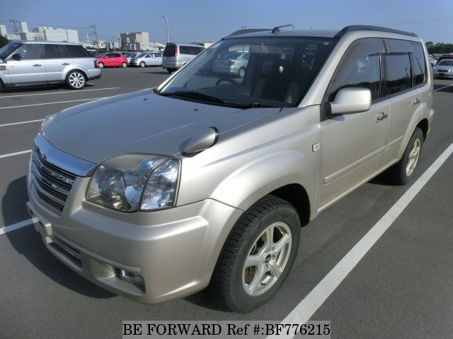 A used 2005 Nissan X-Trail from online used car exporter BE FORWARD.