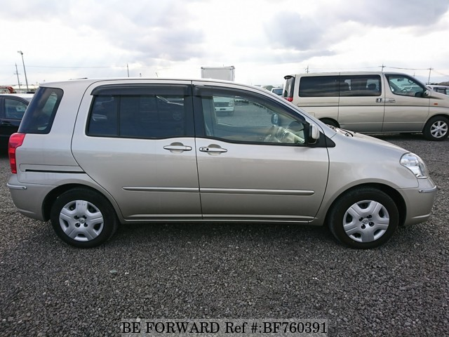 Used 2005 Toyota Raum Side - BE FORWARD
