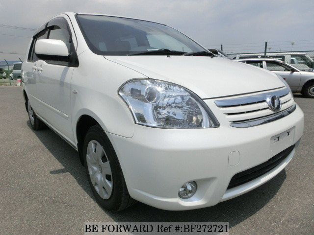 A used 2009 Toyota Raum from online used car exporter BE FORWARD.