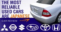 Japanese Used Cars Win the Award for Most Reliable Used Cars