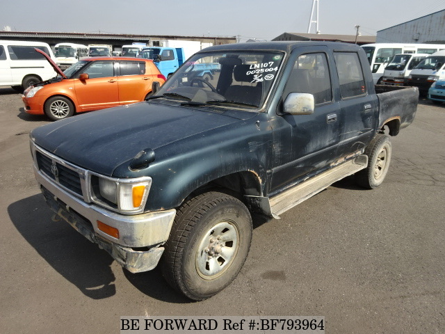 A used 1996 Toyota Hilux from online used Japanese cars exporter BE FORWARD.