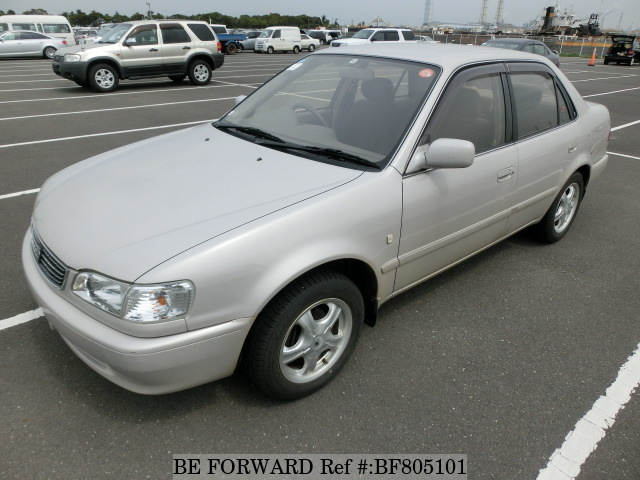 A used 1998 Toyota Corolla from online used car exporter BE FORWARD.