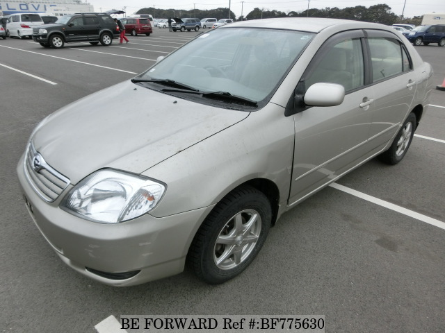 A used 2003 Toyota Corolla from online used car exporter BE FORWARD.