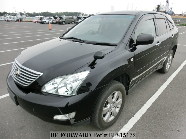 A used 2007 Toyota Harrier from online used car exporter BE FORWARD.