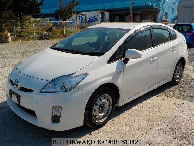 A used 2011 Toyota Prius from online used Japanese cars exporter BE FORWARD.