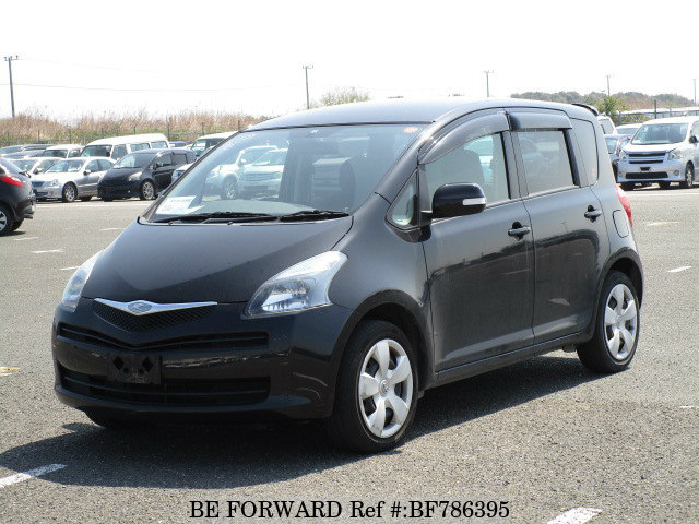 A used 2007 Toyota Ractis from online used car exporter BE FORWARD.