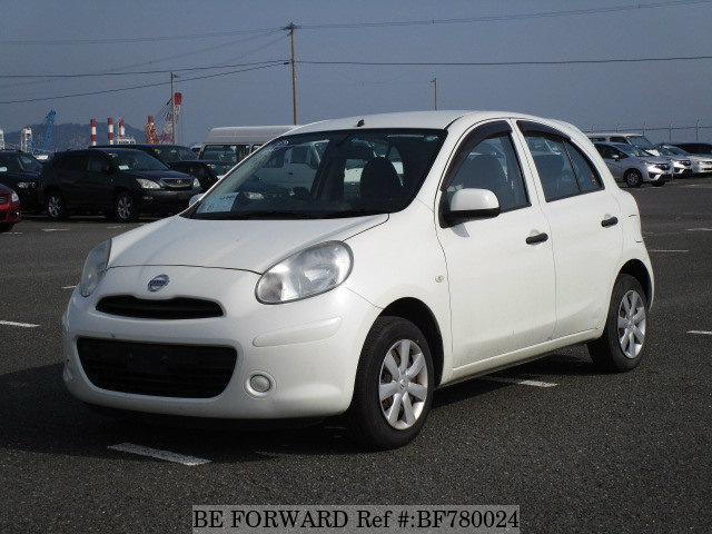 A used 2011 Nissan March from online used car exporter BE FORWARD.