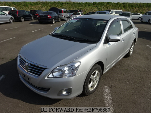 A used 2013 Toyota Premio from online used car exporter BE FORWARD.