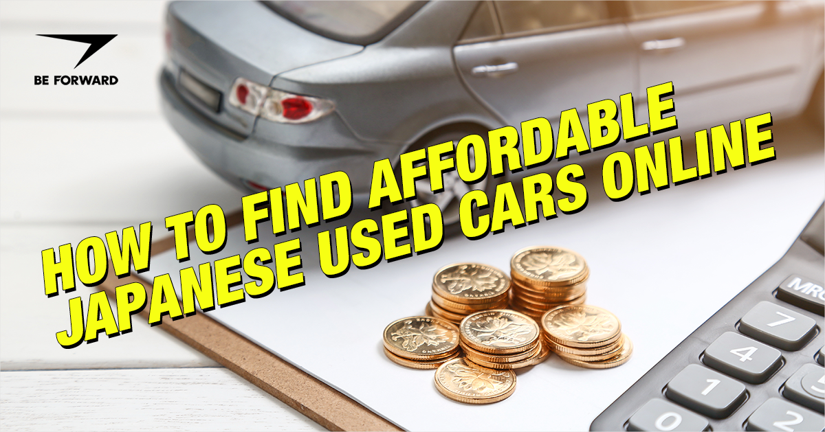 How to Find Affordable Japanese Used Cars Online