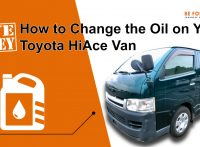 Save Money! How to Change the Oil on Your Toyota HiAce Van