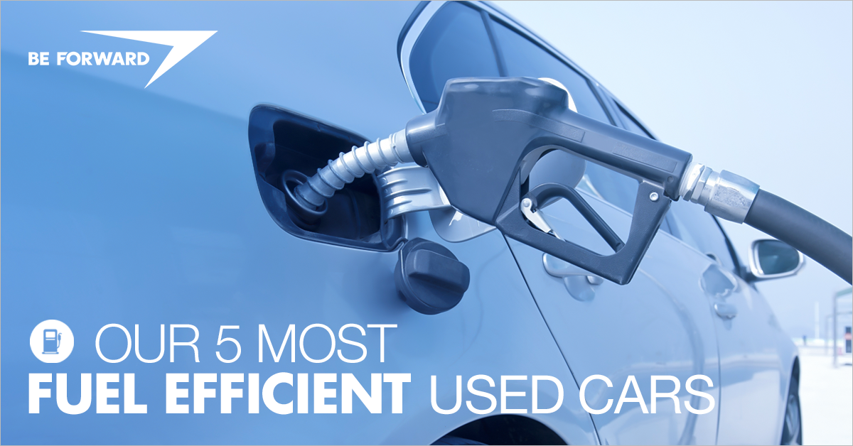 our 5 most fuel efficient used cars available from japan
