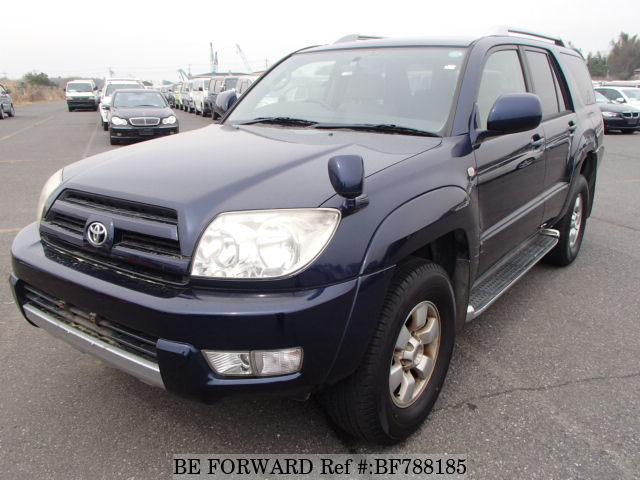 A used 2003 Toyota Hilux Surf from online used car exporter BE FORWARD.