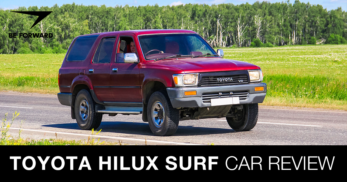 Toyota Hilux Surf 4runner Review Suv Features Specs And