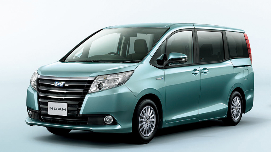 An image of the third generation Toyota Noah.