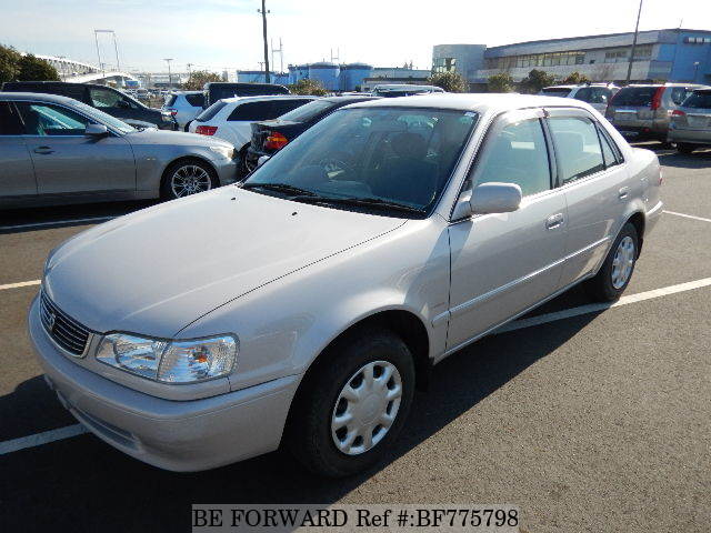 A used 1999 Toyota Corolla Sedan from online car exporter BE FORWARD.