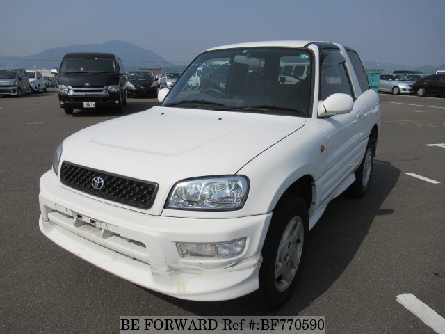 A used 1999 Toyota RAV4 from online used car exporter BE FORWARD.