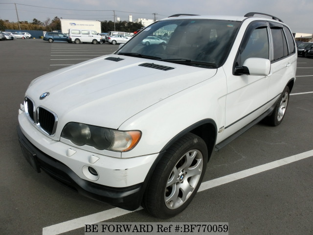 A used 2003 BMW X5 from online car exporter BE FORWARD.