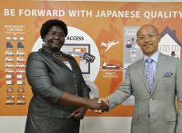 Ugandan Ambassador Visit to BE FORWARD Office in Tokyo