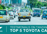 Tanzania's Top 5 Toyotas: BE FORWARD REVIEWS