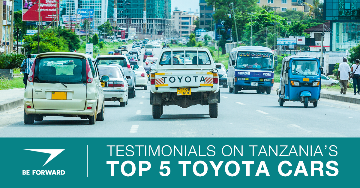 Testimonials on Tanzania's Top 5 Toyota Cars