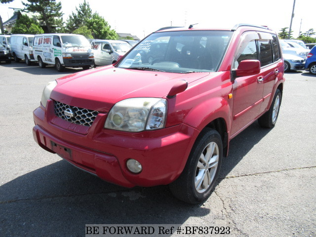 A used 2001 Nissan X-Trail from online used car exporter BE FORWARD.