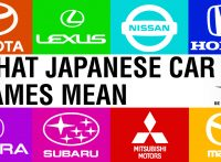 What do Japanese Automaker Names Mean?