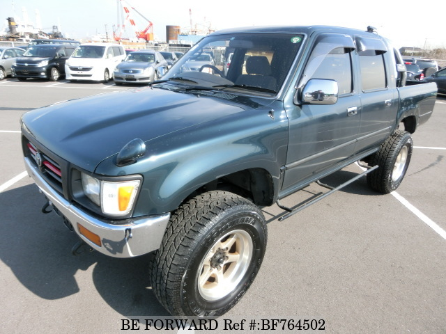 A used 1995 Toyota Hilux from online used car exporter BE FORWARD.