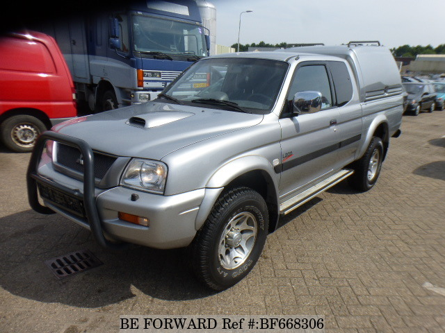 A used 2003 Mitsubishi L200 from online used car exporter BE FORWARD.