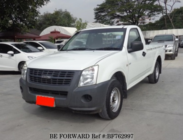 A used 2010 Isuzu D-MAX from online used car exporter BE FORWARD.