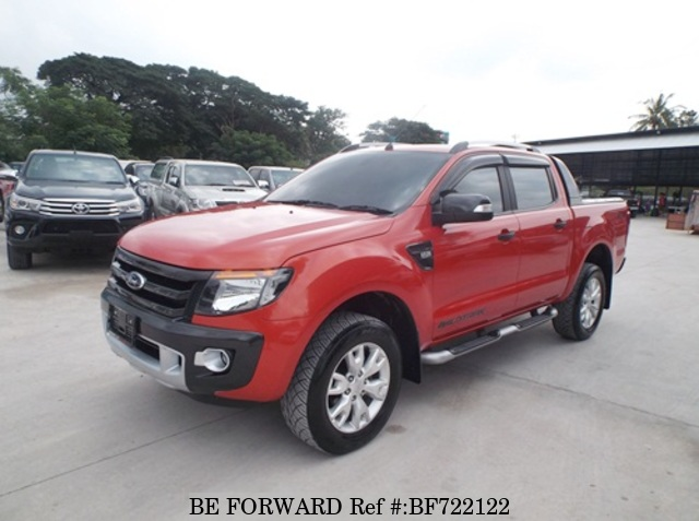 A used 2013 Ford Ranger from online used car exporter BE FORWARD.