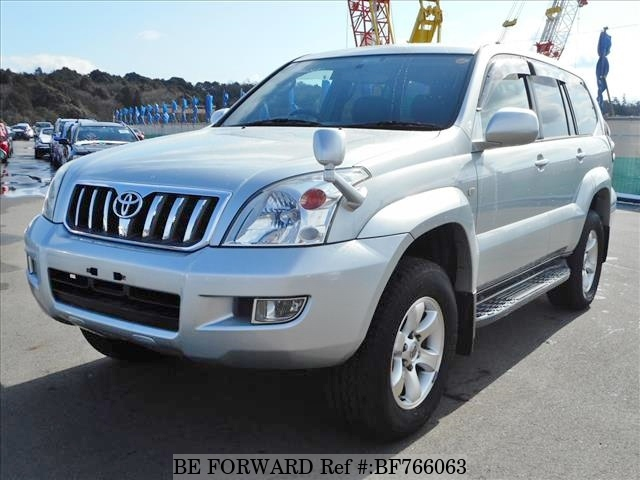 Used 2004 Toyota Land Cruiser Prado - BE FORWARD
