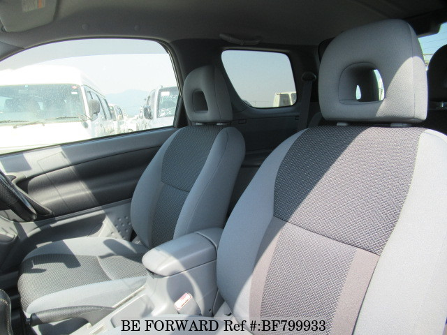 Interior of a used 2001 Toyota RAV4 from online used car exporter BE FORWARD.