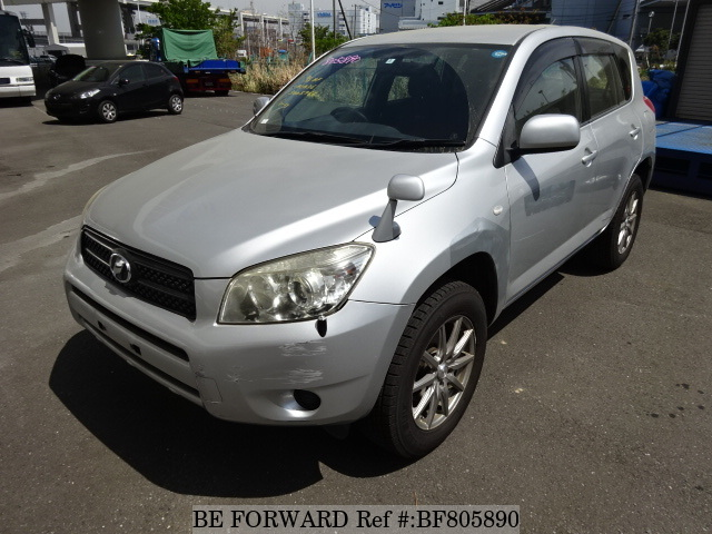 A used 2006 Toyota RAV4 from online used car exporter BE FORWARD.